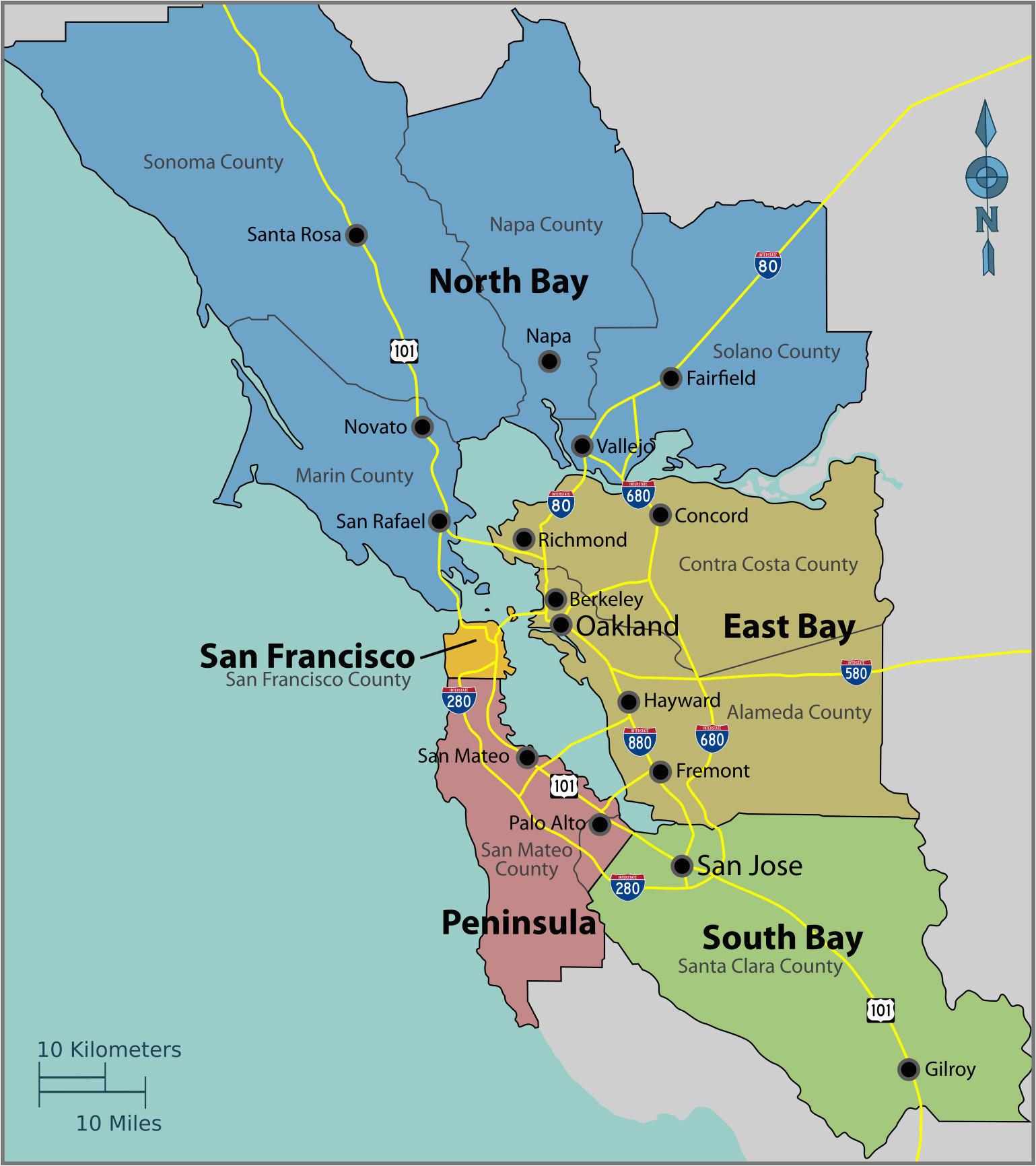 Map Of Mountain Ranges In California California Mountain ...