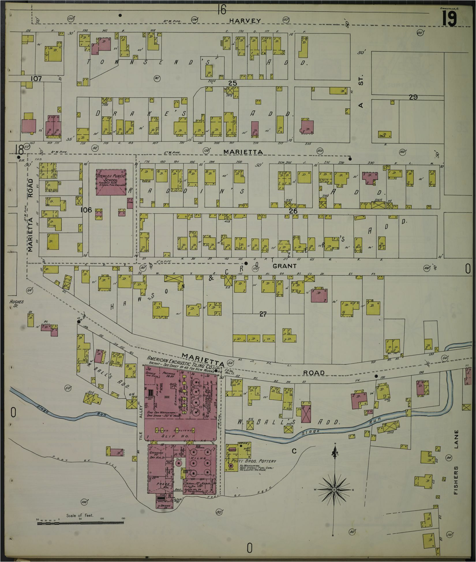 sanborn maps 1890 1899 sanborn fire insurance map from zanesville
