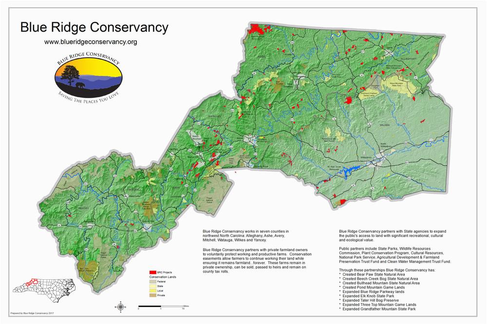 protected areas blue ridge conservancy