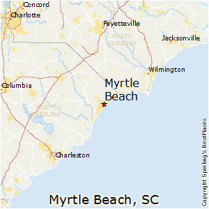 map of north myrtle beach maps directions
