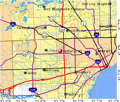 cass county michigan map lovely map of the city of detroit in the