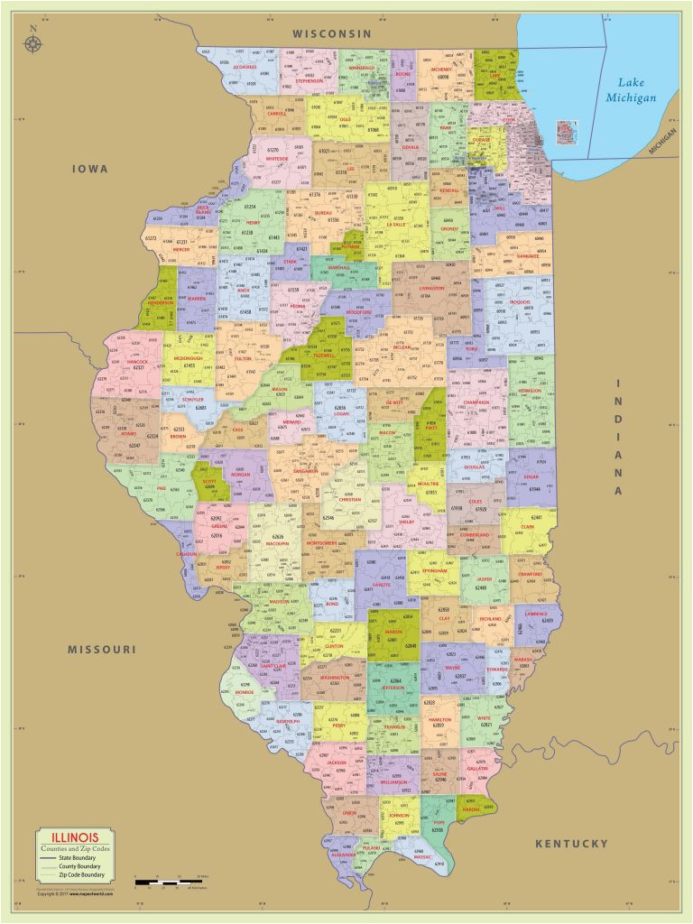 Michigan Map with Zip Codes Zip Code Boundary Map Lovely ...