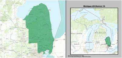michigan s 10th congressional district revolvy