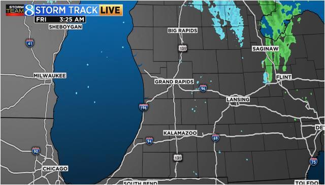 Michigan Weather forecast Map Radar Satellite – secretmuseum
