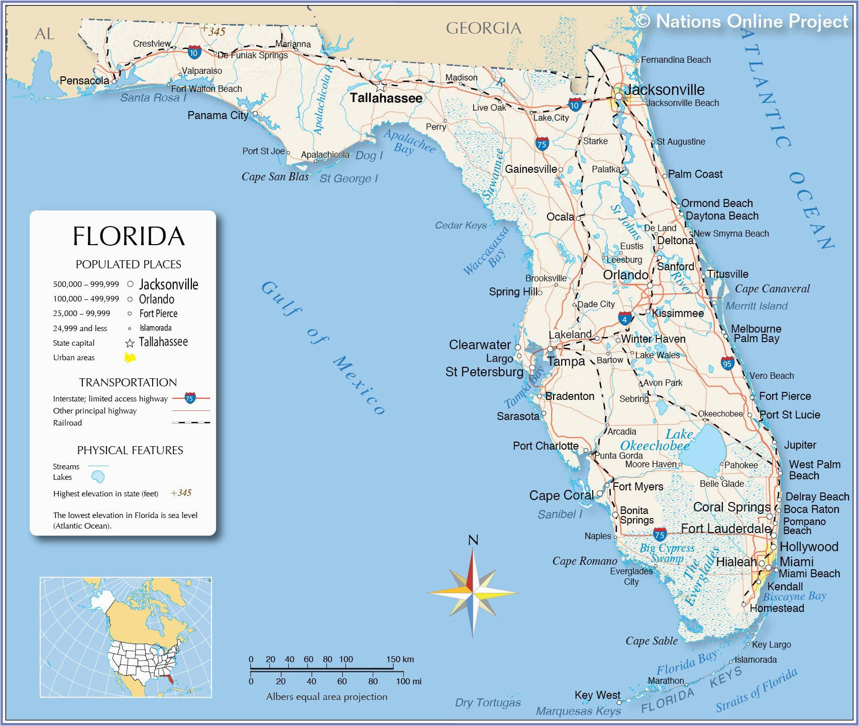 map of florida beaches on the gulf luxury florida west coast map
