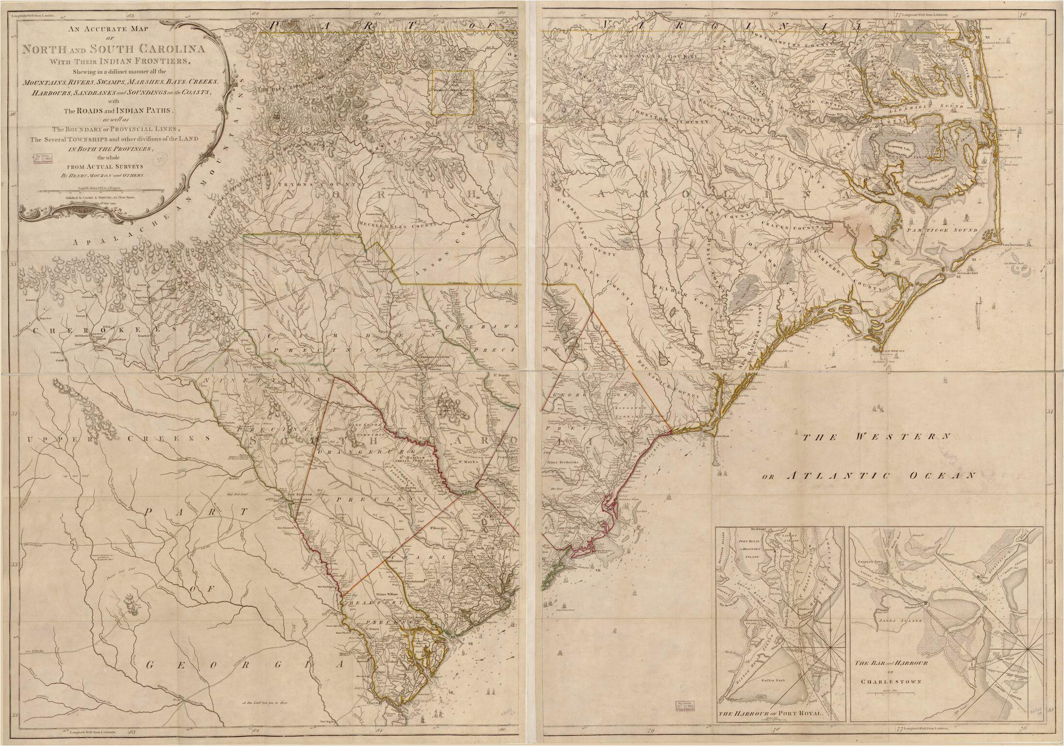 map north carolina library of congress