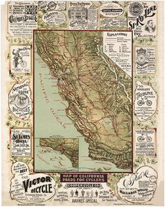 9 best antique california maps images old maps antique maps