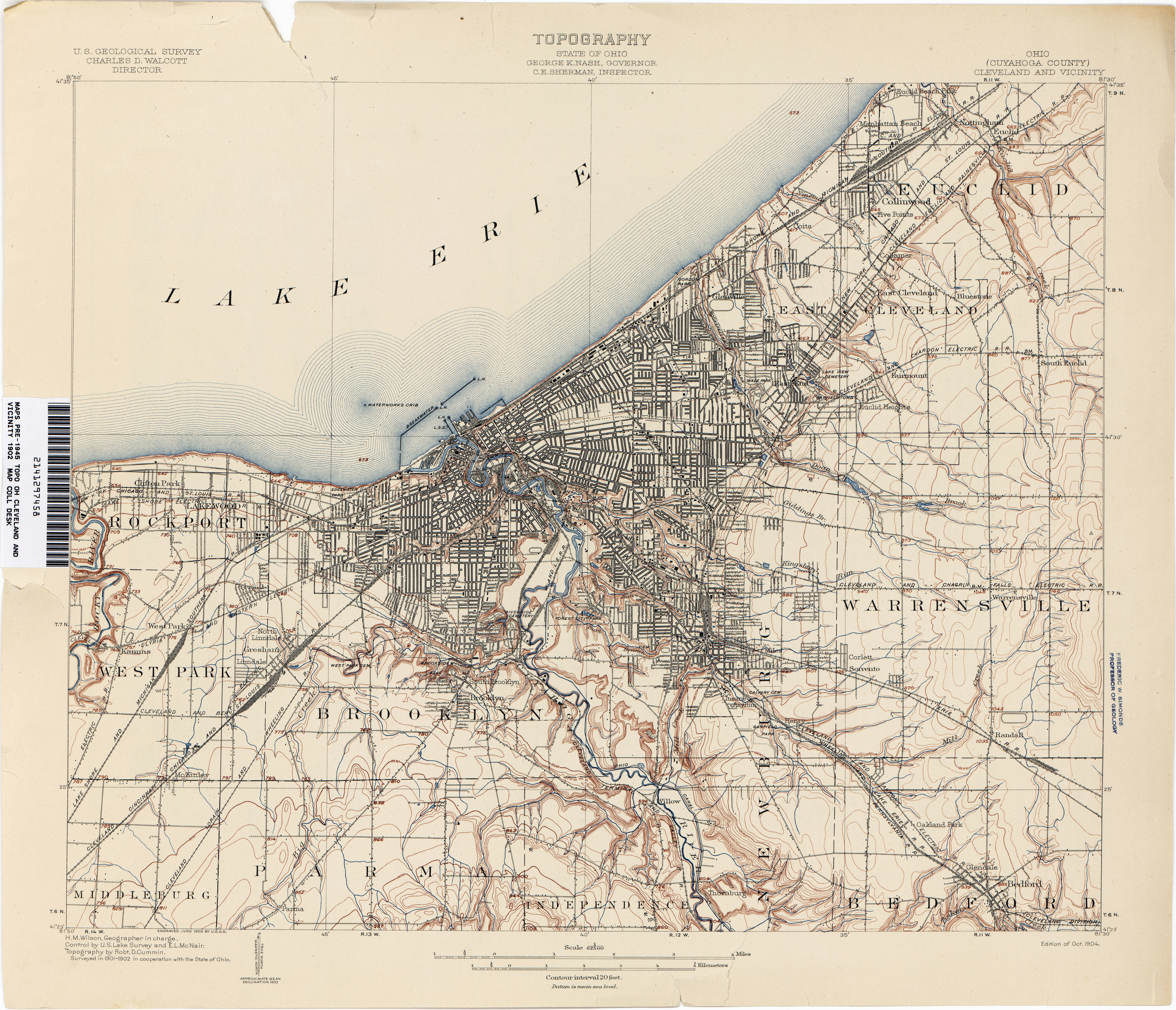 cleveland zip code map elegant ohio historical topographic maps