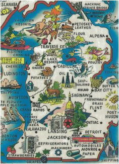 Neighbor Michigan Map 10 Best Map Of Michigan Images Map Of
