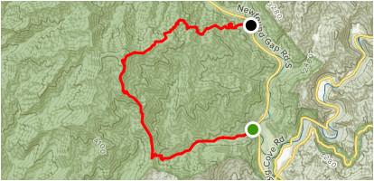 mingus mill and newton bald trail north carolina alltrails