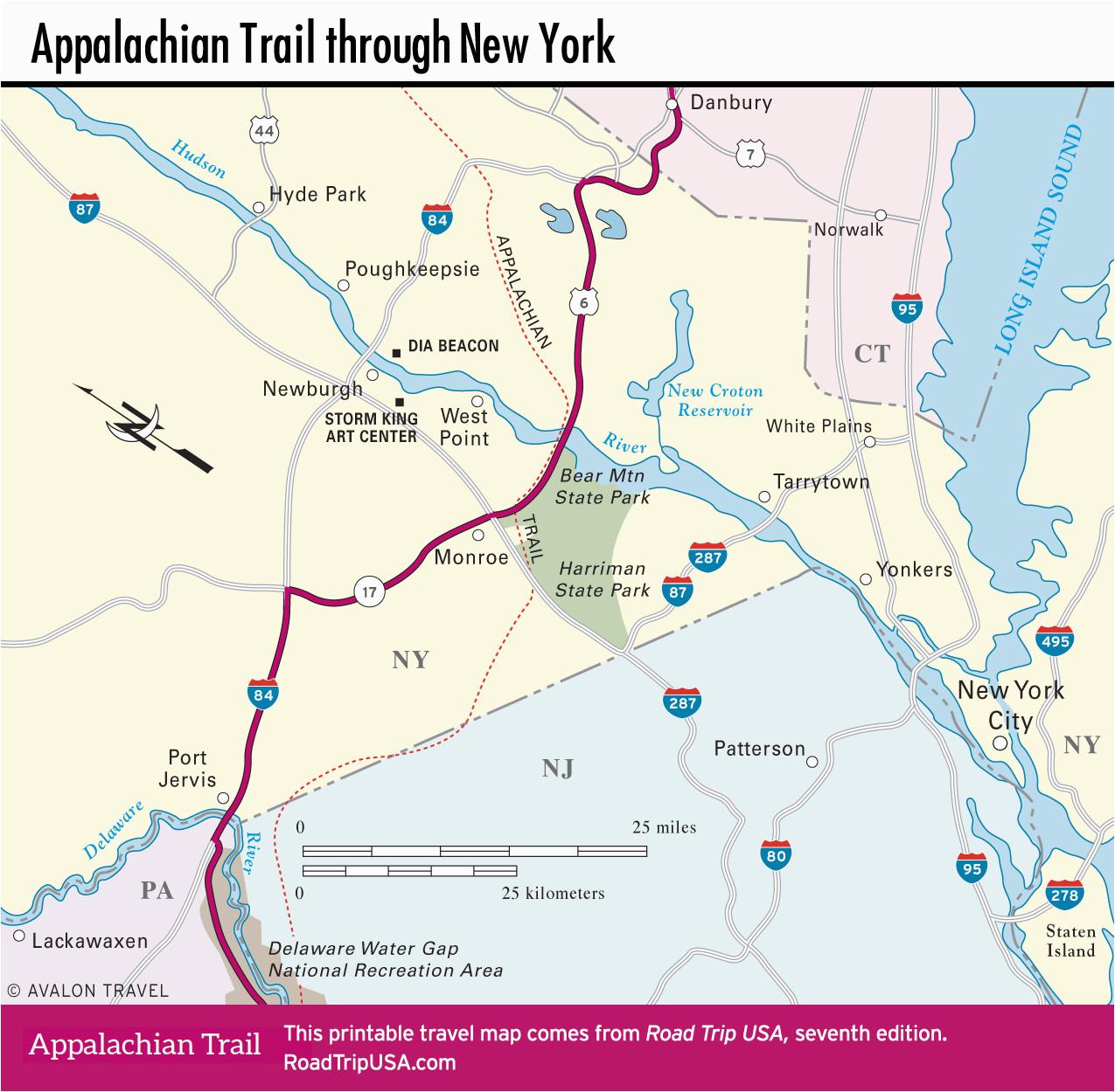 appalachian trail north carolina map best of 34 unique appalachian