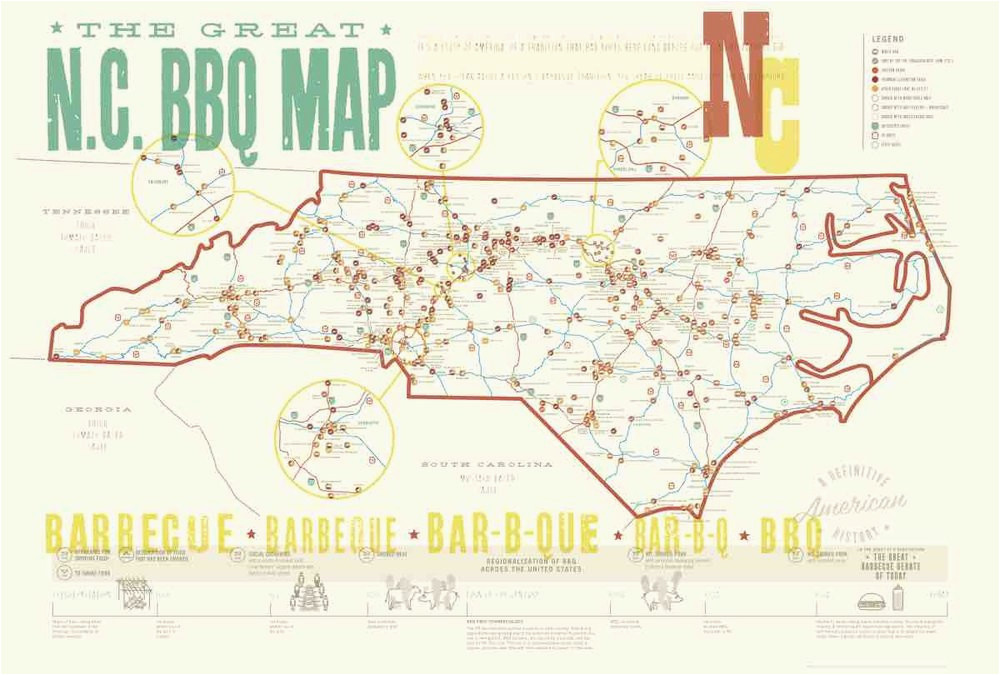 press kit edia maps nc sc food adventure maps