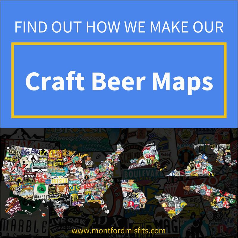how we make our 3d craft beer maps montford misfits