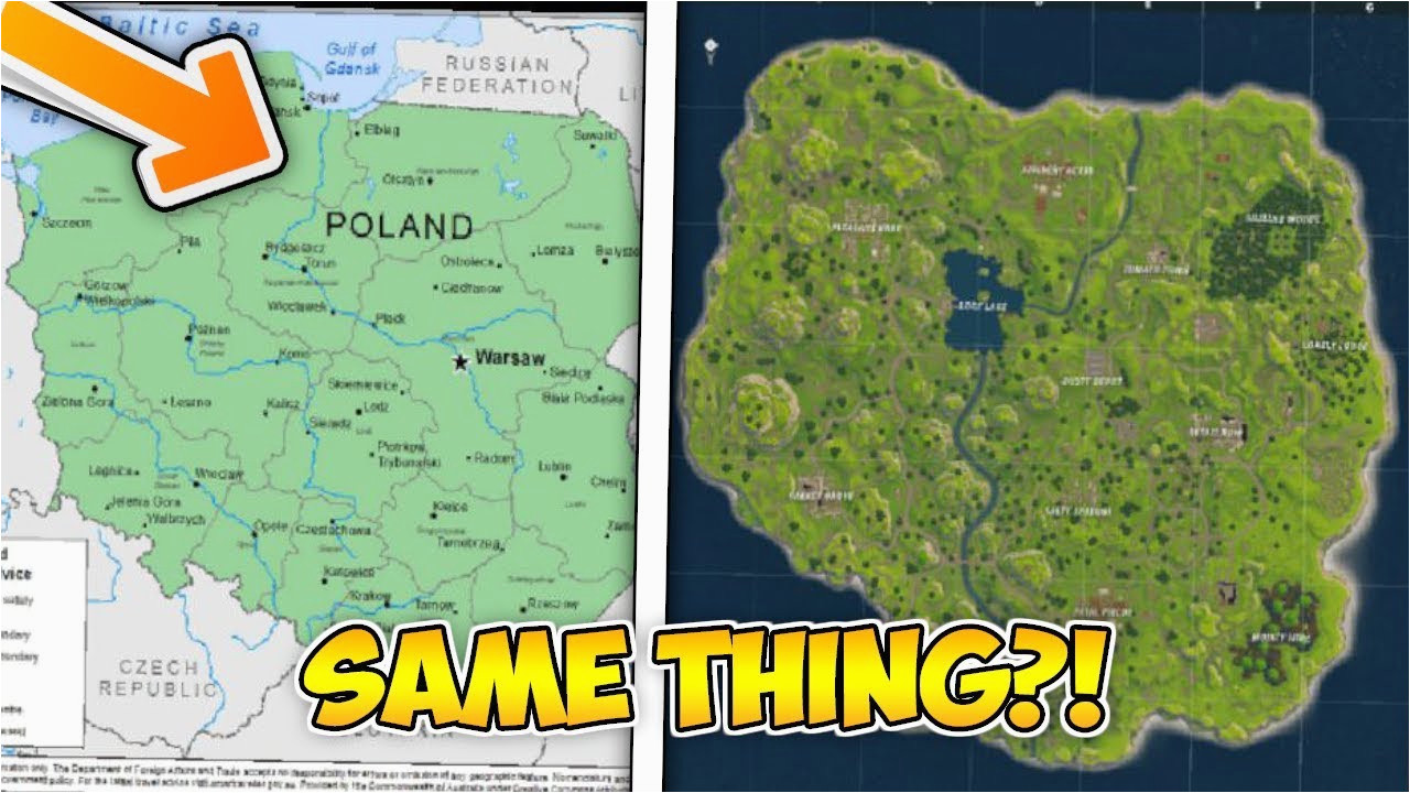 nc game lands map lovely the fortnite map is actually poland