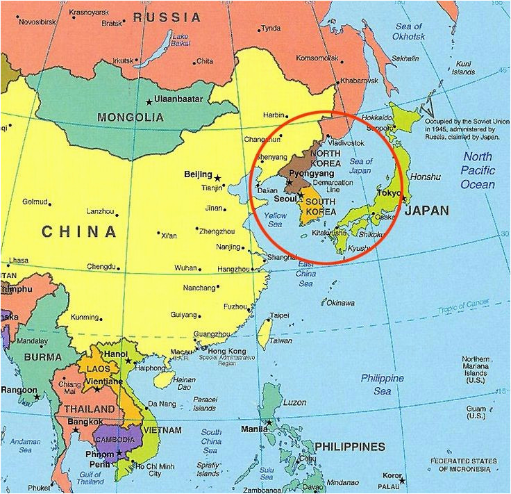North Carolina On World Map north and south Korea On World ...
