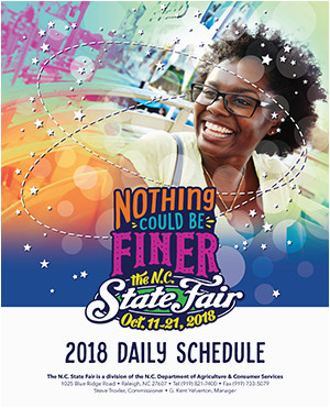 2018 n c state fair nothing could be finer