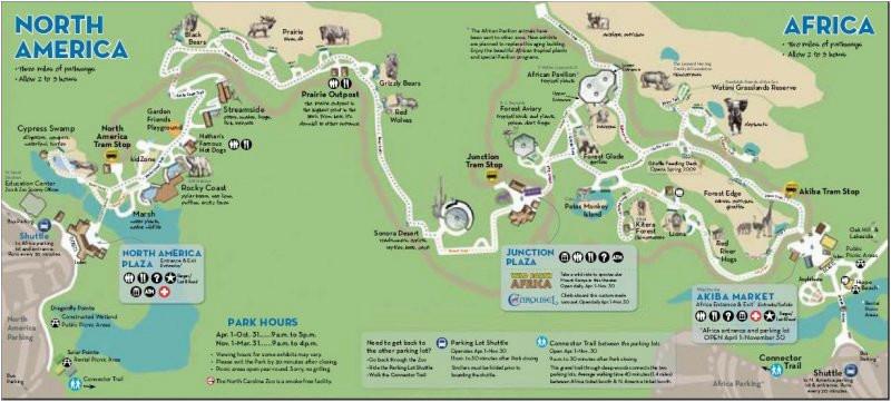 31 perfect north carolina zoo map bnhspine com