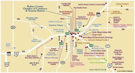 amish country berlin ohio shopping map exploring mars