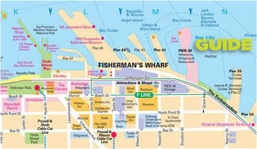Ohio attractions Map San Francisco Maps for Visitors Bay