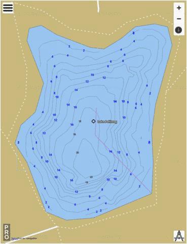 lake pollywog fishing map us km ky lake pollywog nautical