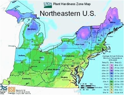 Ohio Planting Zone Map Planting Zones Ohio Garden Zone Map Of Us ...