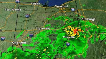 Ohio Radar Map Live | secretmuseum on