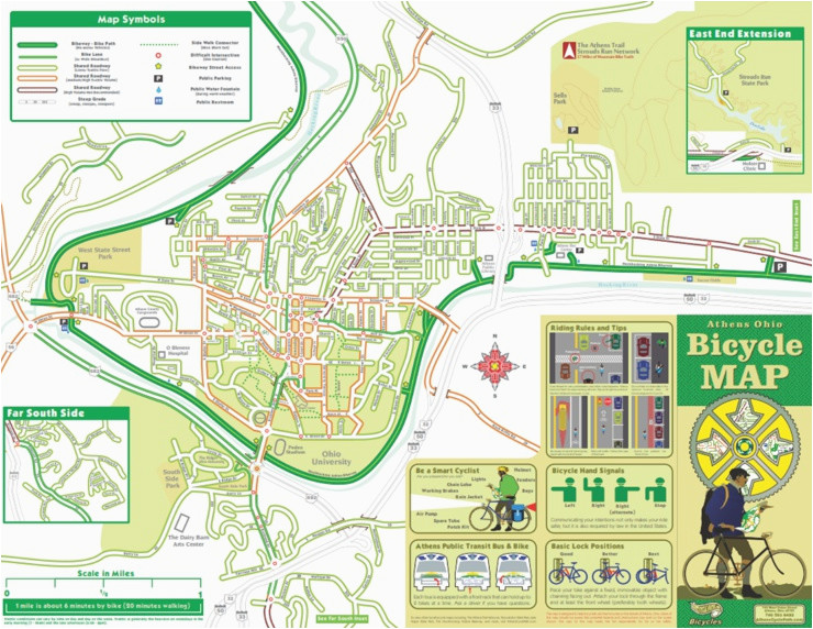 Bike Trails In Ohio Map.Ohio Rails To Trails Map Secretmuseum