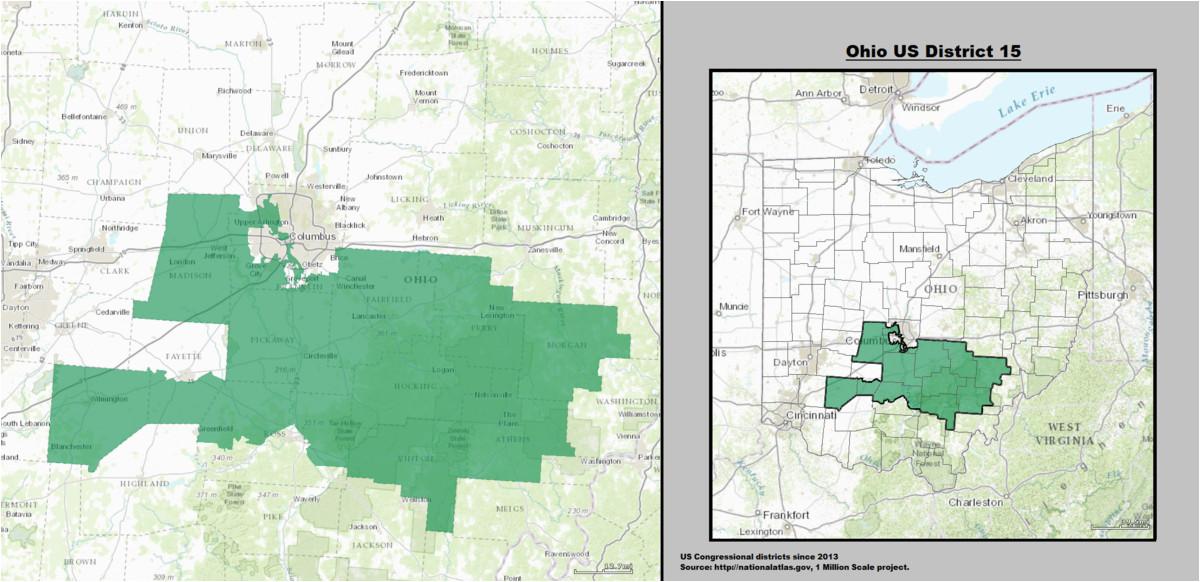 ohio s 15th congressional district wikipedia