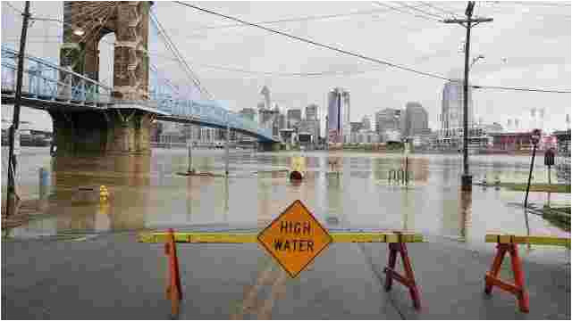 cincinnati ohio river flood of 2018 how does it compare