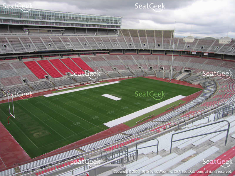 Ohio State Stadium Seating Map Secretmuseum
