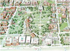 57 best layout of university campus images landscape architecture
