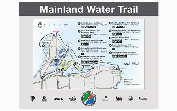 lake erie islands water trail mainland trail catawba marblehead