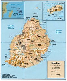 83 best mauritius maps images continents mauritius island