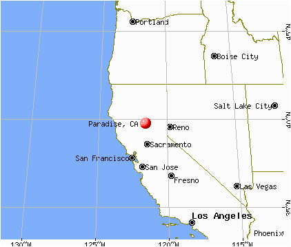 town of paradise ca map paradise california ca 95967 95969