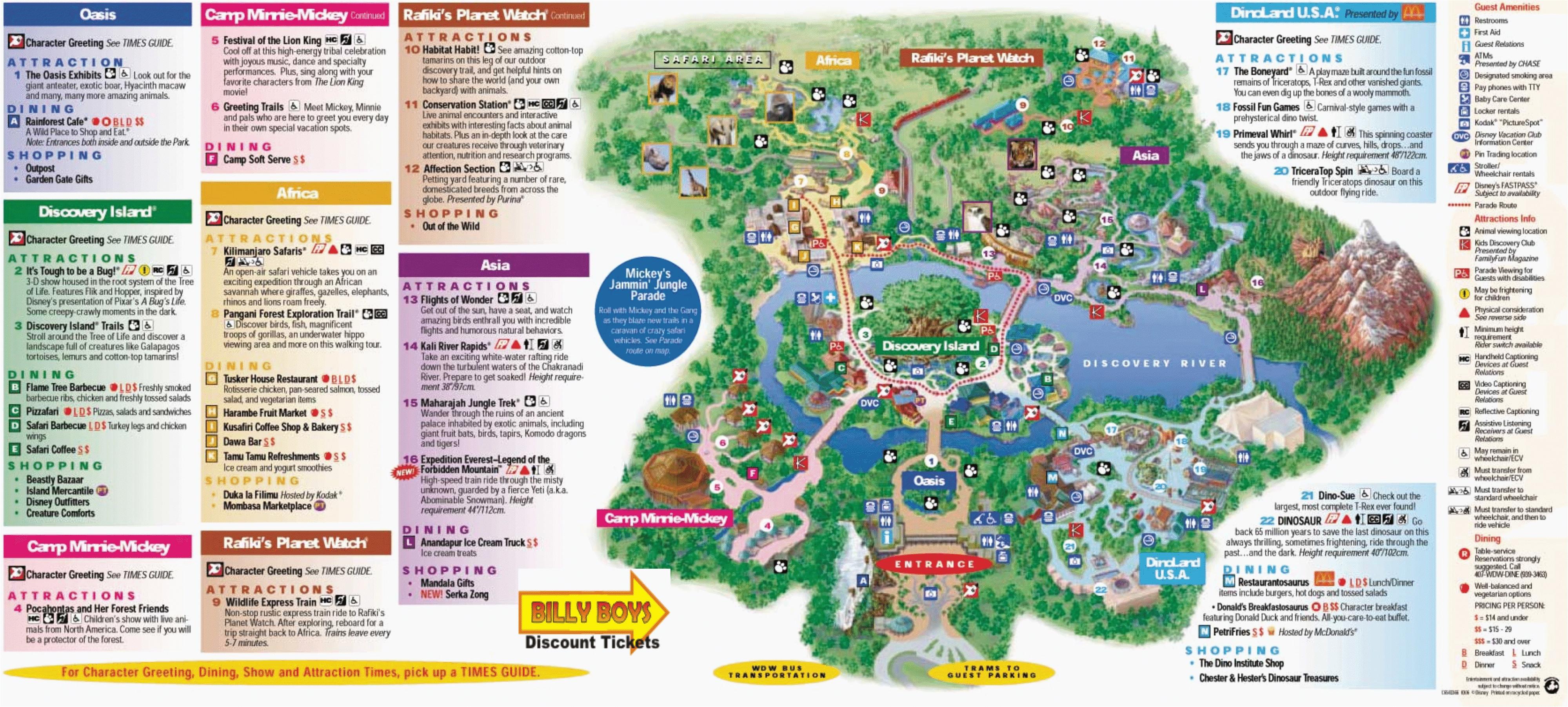 map disney california adventure park detailed california printable