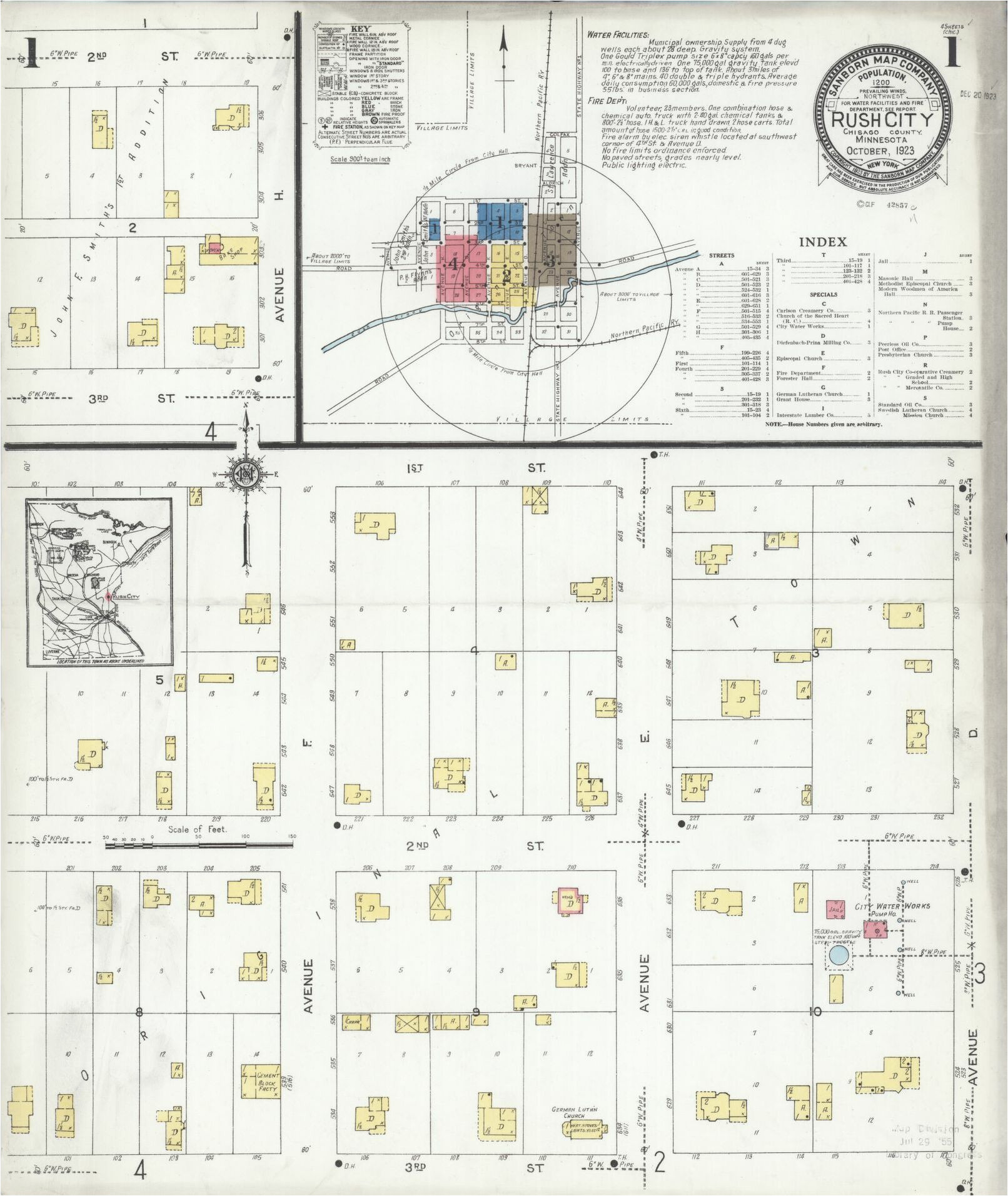 Sanborn Fire Insurance Maps Ohio Sanborn Maps 1923 Liry Of ... on