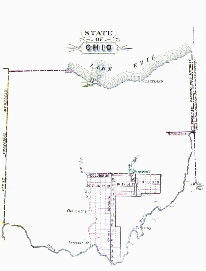 Scioto County Ohio Map Congress Lands East Of Scioto River Wikipedia