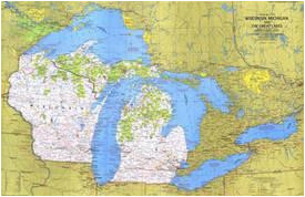 affordable maps of michigan posters for sale at allposters com