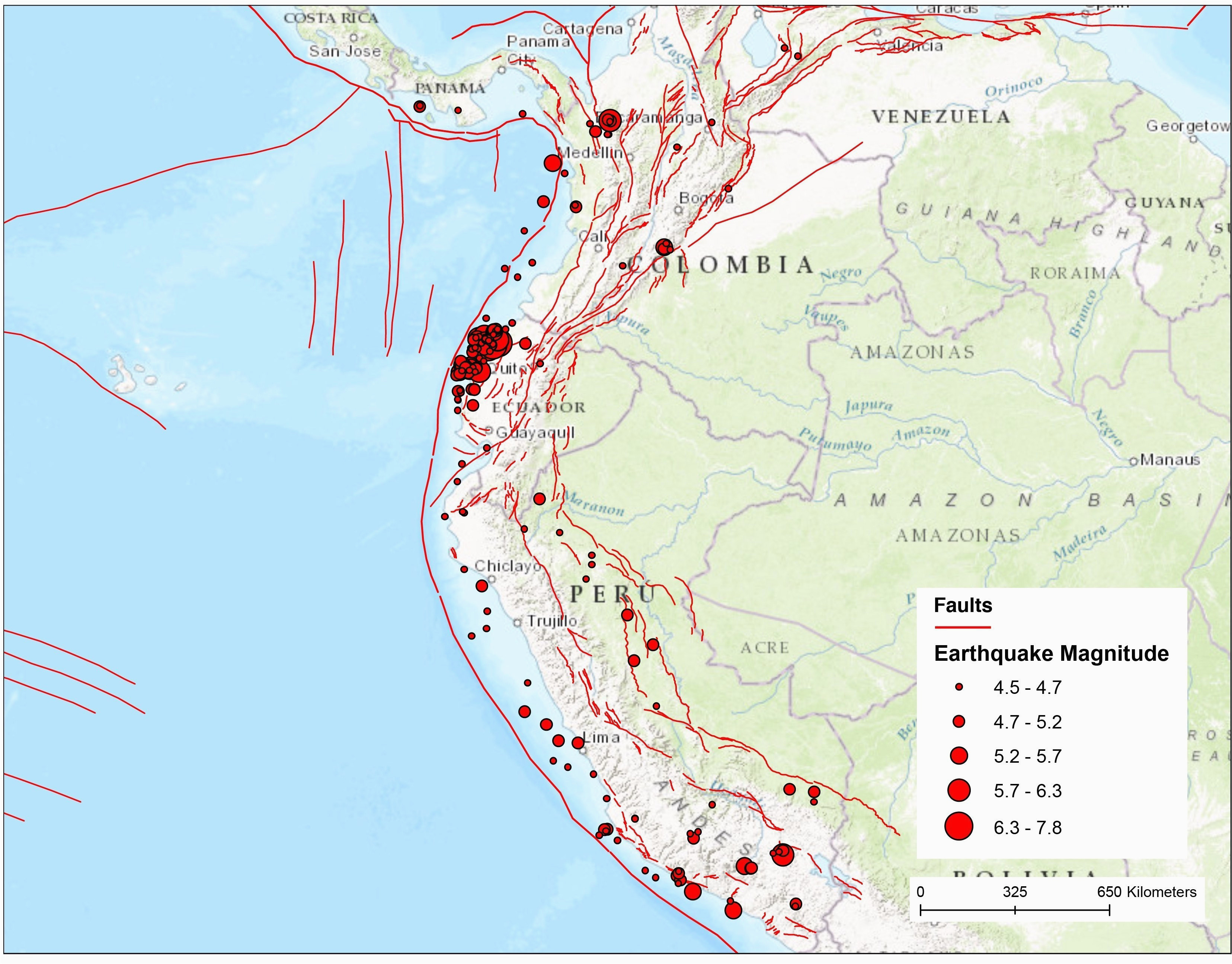 Southern California Fault Lines Map Fault Lines Map Hayward ...