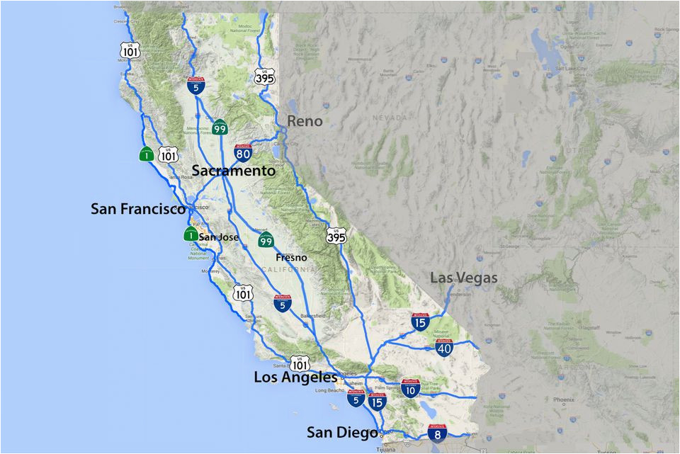 Map Of California Hot Springs.Southern California Hot Springs Map Maps Of California Created For