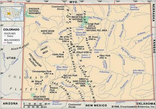 Arizona Points Of Interest Map.Spanish Peaks Colorado Map Colorado Flag Facts Maps Points Of