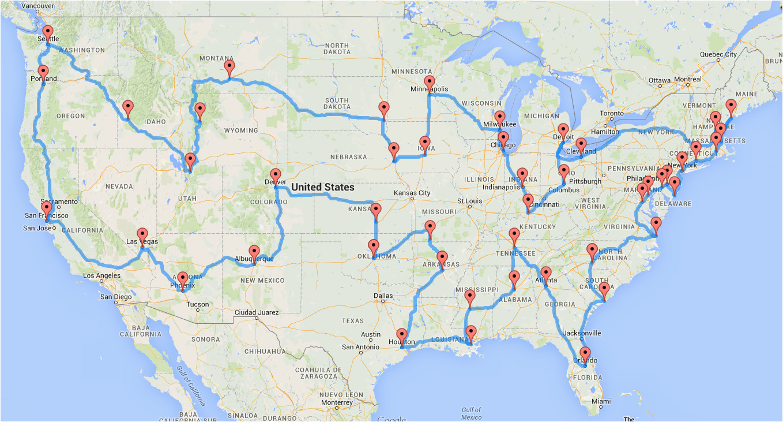 computing the optimal road trip across the u s dr randal s olson