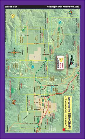 Tehachapi California Map Tehachapi S Own Phone Book Maps by Tehachapi News issuu