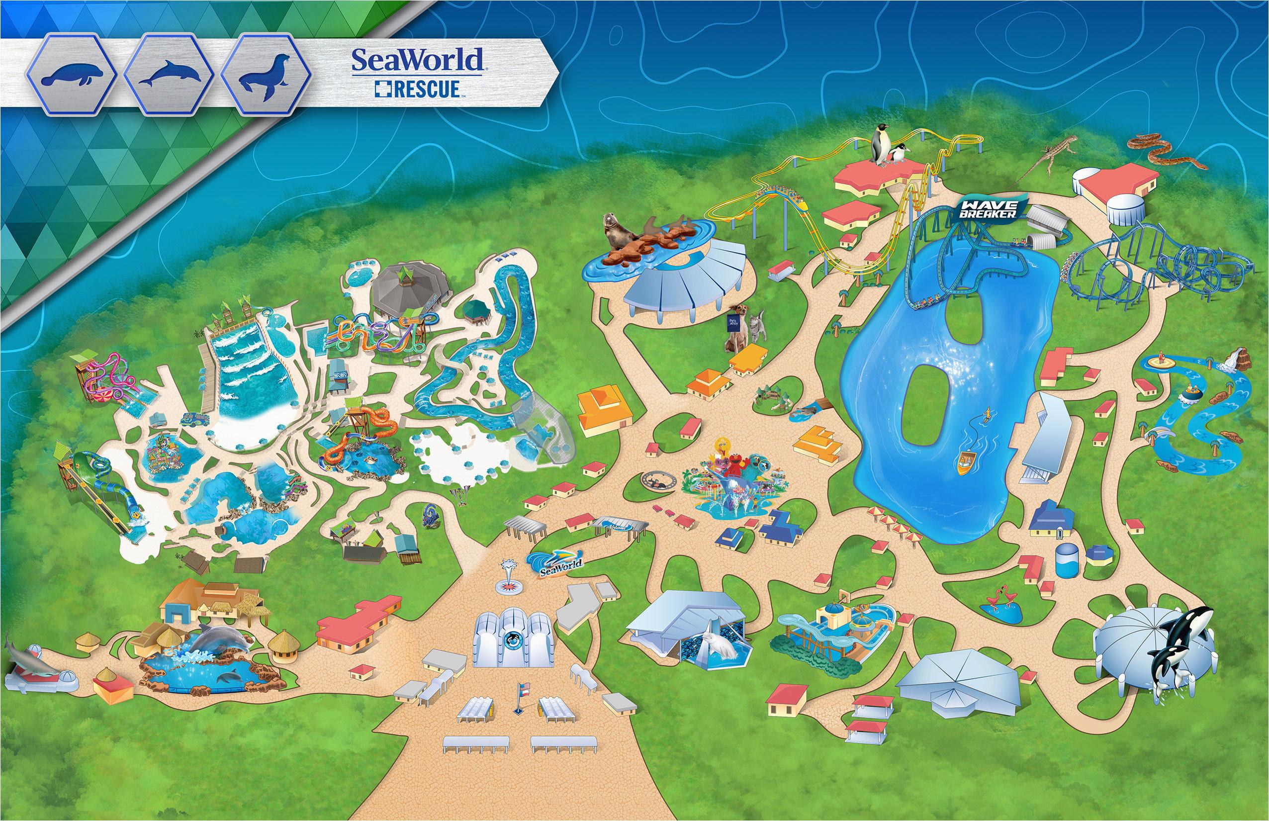 Theme Parks California Map   secretmuseum on