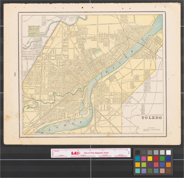 Toledo Ohio Map Google   secretmuseum