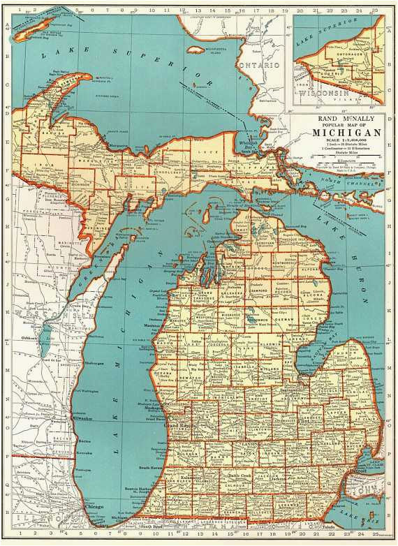 Topographical Map Of Michigan Michigan Elevation Map Luxury Picture ...