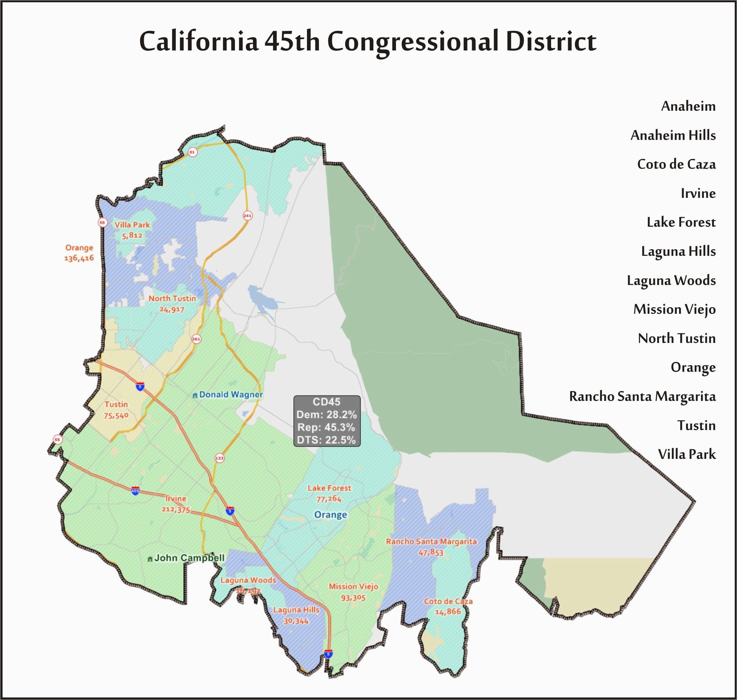 Torrance California Map Map Of Irvine California and ...