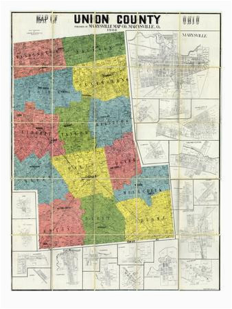 beautiful maps of ohio artwork for sale prints and posters art com