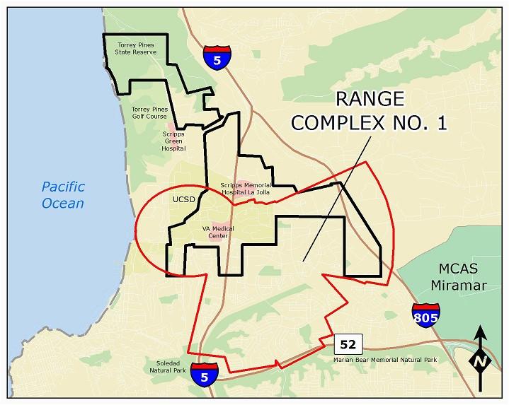 ucsd camp matthews range complex no 1