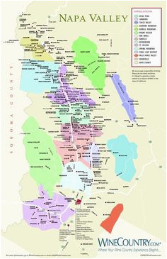 32 best napa valley images california wine maps blue prints